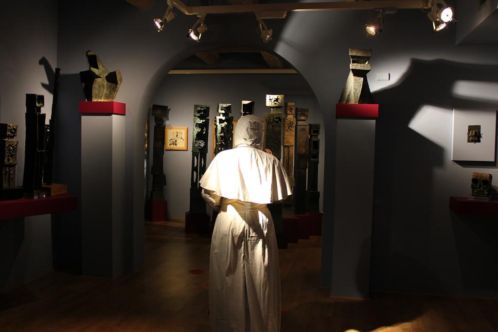 Fatima Messana,Testiculos qui non habet, Papa Esse non posset, al Cassero di Montevarchi, 2015