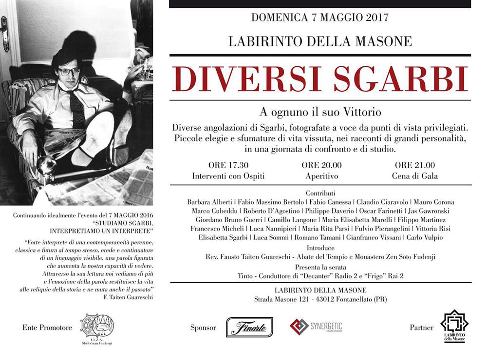"""""""CAPRA!"""" di Fatima Messana in """"Diversi Sgarbi"""" , special event curated by Sabrina Colle, art director Vittorio Sgarbi, Labirinto della Masone di Franco Maria Ricci, Fontanellato (PR) – Italy"""